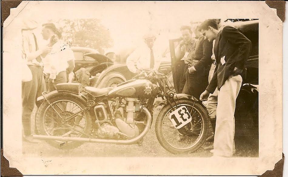 bsa racer 1938