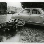 L'accident de moto